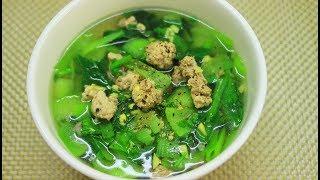 Cách nấu canh rau cải ngon ngọt đơn giản