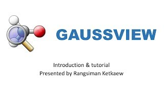 How to Draw Molecule in Gaussview