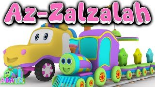 Animation 3D Juz Amma Az Zalzalah | Recite Quran with Battar | ABATA Channel