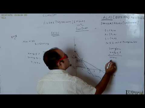 CLASS 12TH PART 1 LINEAR PROGRAMING NCERT EX 12 1 QNO 1TO 10