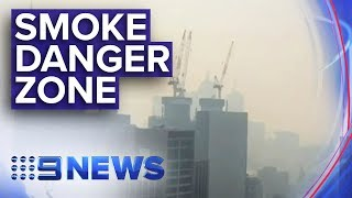 Melbourne smoke haze 'worst in the world' | Nine News Australia