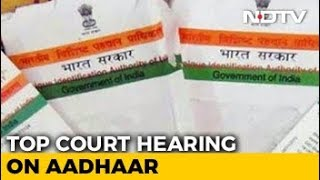 """Aadhaar A """"Giant Electronic Mesh"""", Petitioner To Supreme Court"""