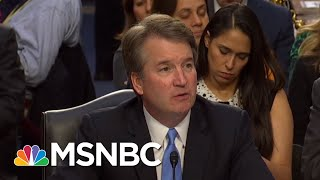 GOP Fails To Explain Excluding FBI From Brett Kavanaugh Investigation | Rachel Maddow | MSNBC