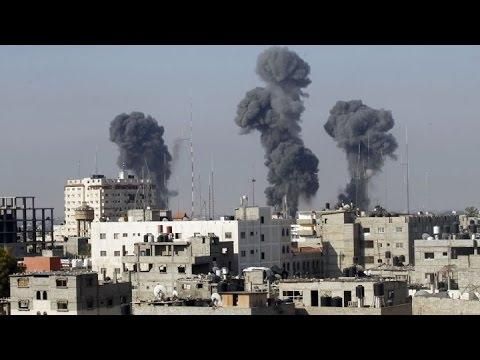 2014 Israel–Gaza conflict. Israeli Air Strike in Gaza