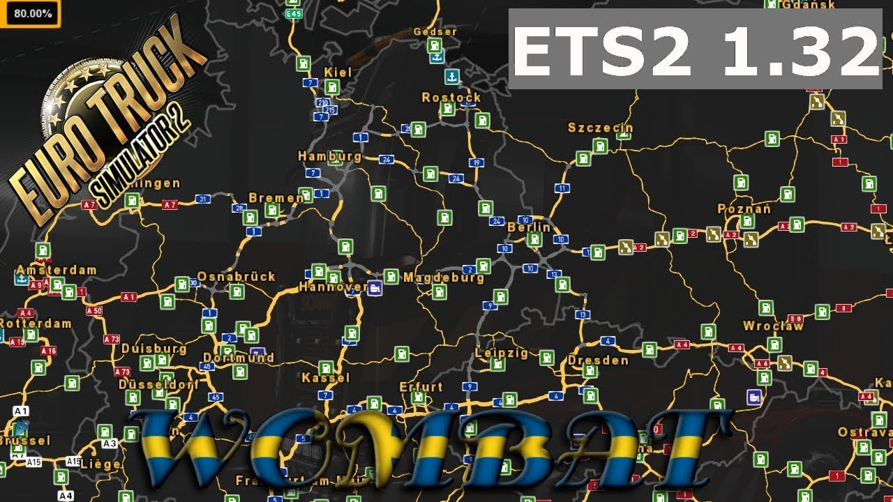 ETS2 1 32 - Whats new and what map mods work