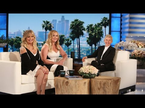 Amy Schumer and Goldie Hawn Spill Behind-the-Scenes Stories ...