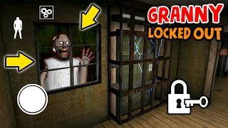 Can We Lock Granny OUT OF THE HOUSE!?!? (Invincible Glitch) | Granny Chapter 2