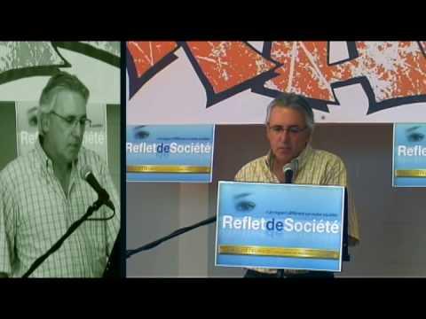 Conférence de presse Reflet de Société - Jean Gagnon