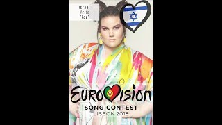 Netta Toy Siegersong Eurovision Song Contest 2018!! NEW!! Israel Winner Song TOY/Lyrics High Quality