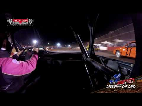 #69 Philip Clark - HotShots - 4-27-19 Talladega Short Track - In Car Camera