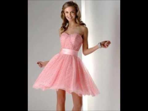 Modelos de vestidos cortos para fiesta de graduacion