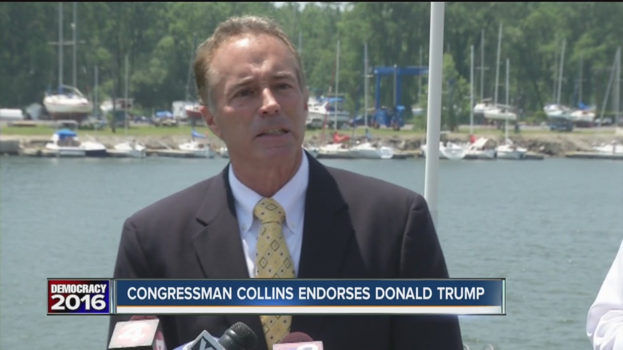 Chris Collins Endorses Donald Trump