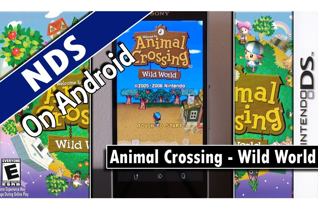 drastic animal crossing wild world nintendo ds. Black Bedroom Furniture Sets. Home Design Ideas