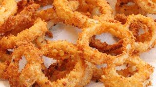 Crispy & Crunchy Onion Rings