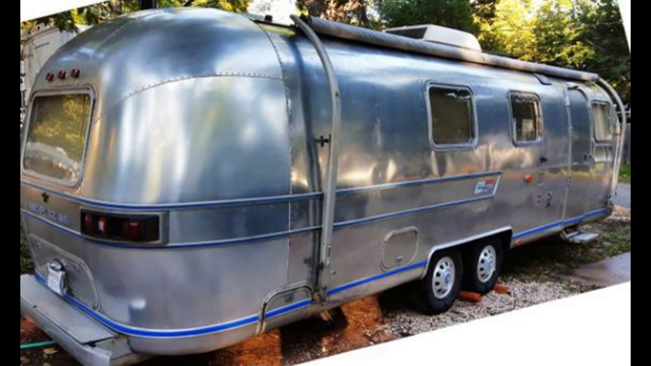 1975 Airstream Sovereign 31' MINT ORIGINAL Travel Trailer