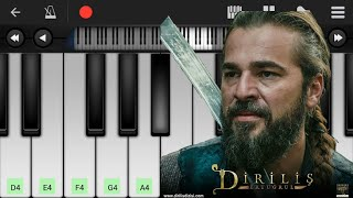 Download song Dirilis Ertugrul Theme Song | Piano Tutorial | Urdu/Arbi/Turkish | Melodious Zahid
