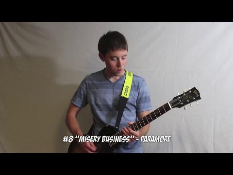 top-10-pop-punk-riffs---guitar-medley