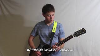Top 10 Pop Punk Riffs - Guitar Medley