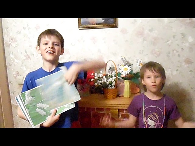 Изображение предпросмотра прочтения – ЕлизаветаВодянова читает произведение «Весна (Уж тает снег...)» А.Н.Плещеева