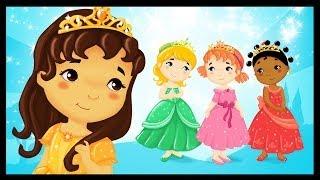 Repeat youtube video Les petites princesses du monde - Chanson - Comptine
