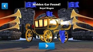 "Crash of Cars - Hidden car ""Royal Wagon"" found in Castle!"
