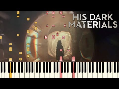 His Dark Materials - Main Theme  Piano Tutorial Synthesia