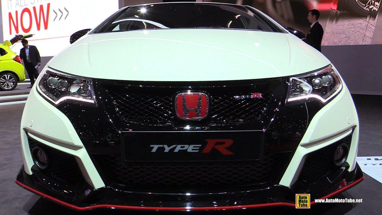 2016 Honda Civic Type R Exterior And Interior Walkaround 2017 Geneva Motor Show