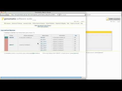 De novo transcription factor binding site definition with CoreSearch