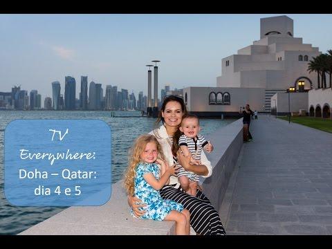 Doha dia 4 e 5: Museu de arte Árabe e o maior shopping de Qatar!