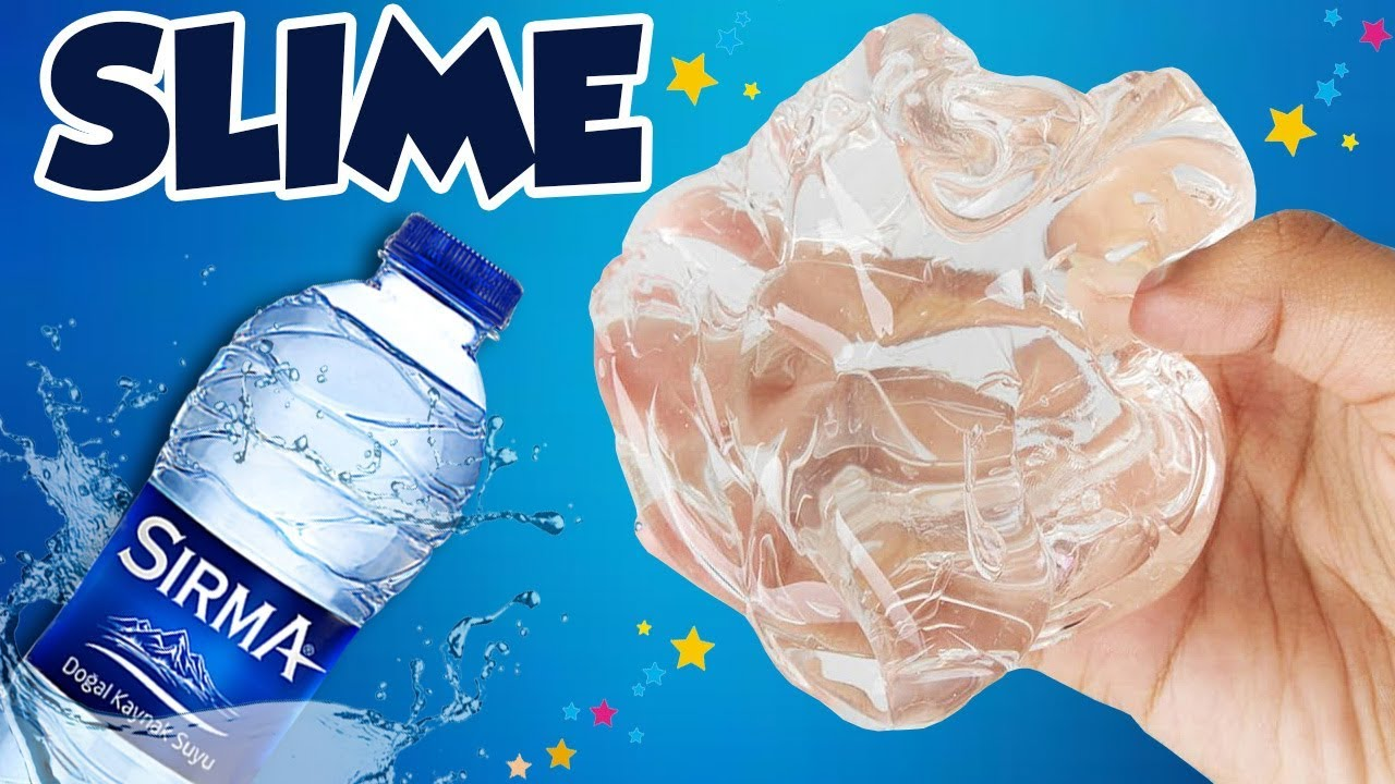 Su Slime Nasil Yapilir Su Slime Yapimi Slaym Water Su Slime Yapilisi Oyuncak Hediye Tv Oyuncak Hediyeler Su