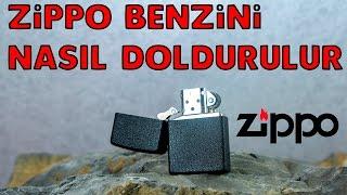 Zippo benzini nasıl doldurulur? How to Refill a Zippo Lighter