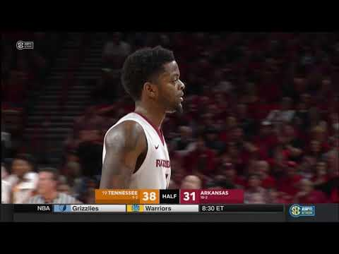 Arkansas vs. Tennessee 12/30/2017