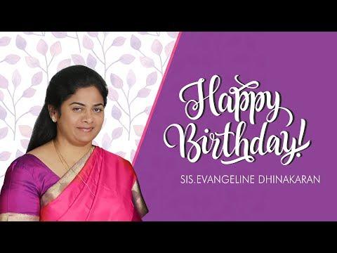 Sis. Evangeline Paul Dhinakaran Birthday | Jesus Calls