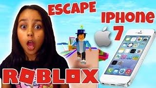 ROBLOX-ESCAPE IPHONE 7 OBBY | LUNA'S STUFF
