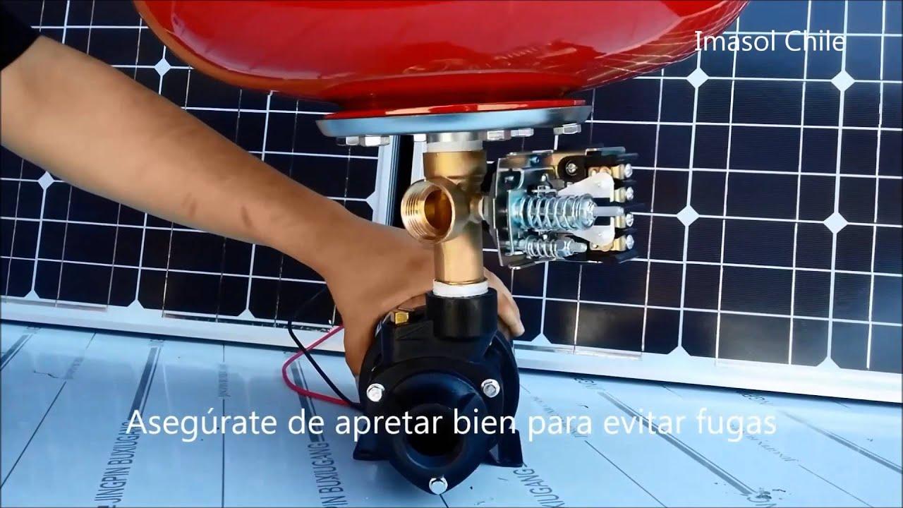 Bomba Centrifuga De Agua Y Riego Funciona Con Energia