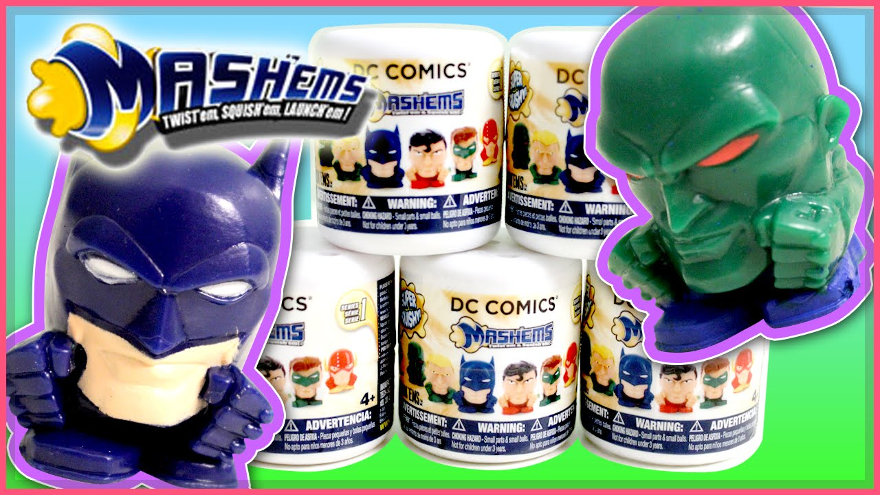 Dc Comics Mashems Series 1 Blind Bag Capsule Box