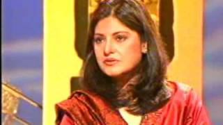 GORGEOUS NAZIA HASSAN  LAST TV APPEARANCE 4 FROM USMAN WALI