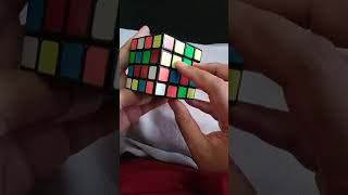 Tutorial center rubik's cube 4x4 for beginner