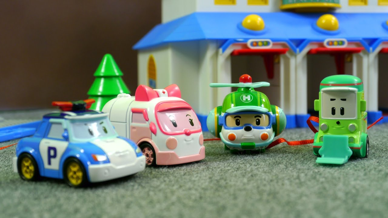 Поли робокар игрушки смотреть
