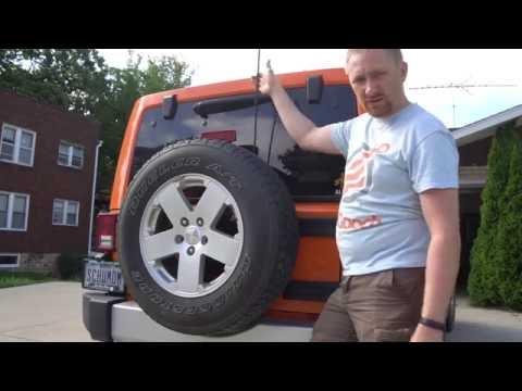 Jeep Wrangler JK CB Radio Antenna Install