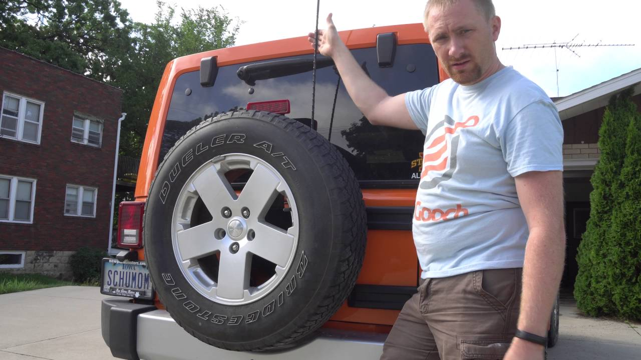 Jeep Wrangler Jk Cb Radio Antenna Install Youtube