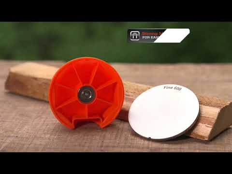 The Best Way to Sharpen Your Axe and Other Tools!  Sharpal FACEOFF Dual-Grit Diamond Tool Sharpener