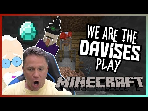 Finding The Mega Mine   Minecraft EP-7   We Are The Davises Gaming