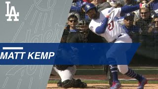 CWS@LAD: Matt Kemp smashes a three-run homer in return to Dodgers