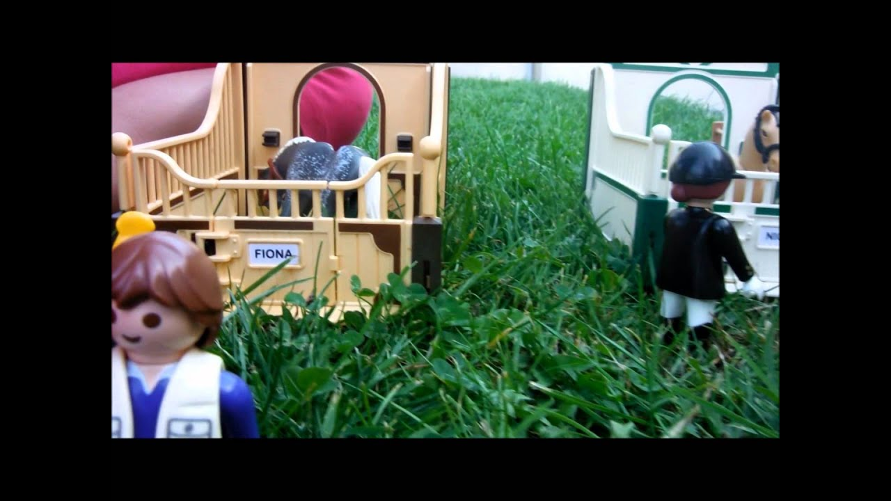 centre equestre playmobil youtube. Black Bedroom Furniture Sets. Home Design Ideas