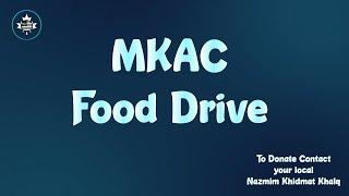 MKAC Food Drive