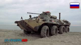 BTR-82A - New Russian Armoured Personnel Carrier