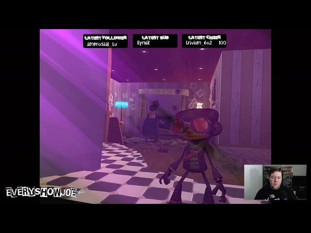 Psychonauts Playthrough - Part 3