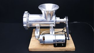 How to make a Home Meat Grinder