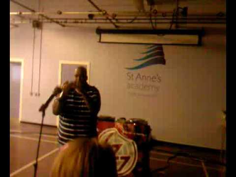 Reggie Dabbs at St Annes Academy